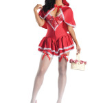 PK136 Little Miss Red Body Shaper