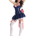 PK175 Pin Up Sailor Body Shaper