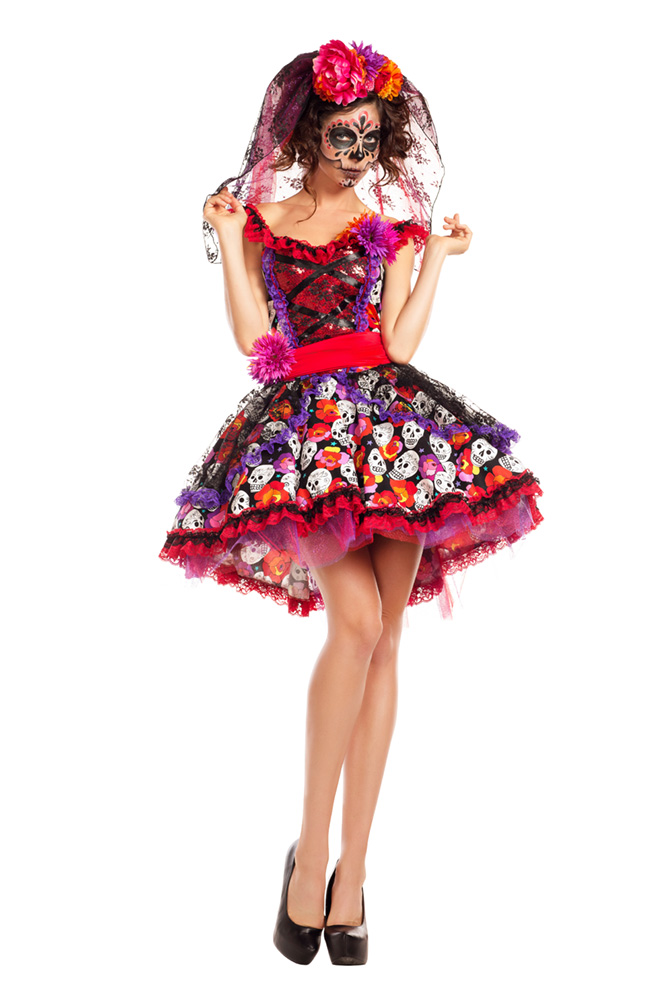 ... PK770 Lady of the Dead ...  sc 1 st  Party King Costumes & Party King Costumes | Top Selling Womenu0027s Halloween Costumes for 2016