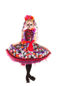 PK770C Lady of the Dead Child Costume