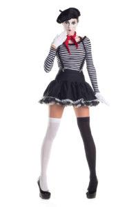 PK222 - Mesmerizing Mime Womens Costume