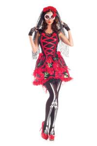 PK297 - Day of the Dead Senorita Womens Costume