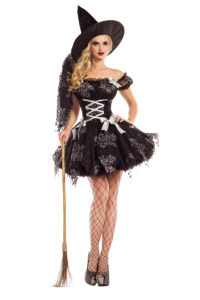 PK739 - Silver Sparkle Witch Womens Costume