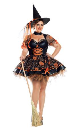 PK949XL Plus Pumpkin Witch