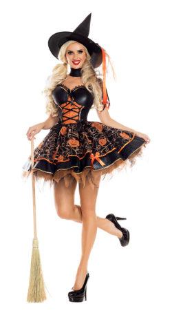 PK949 Pumpkin Witch