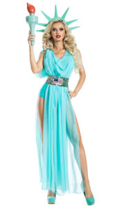 Party King PK1900 Lady Liberty Costume - A