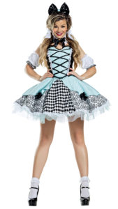 Party King PK1910 Polka Dot Wonderland Honey Costume - A