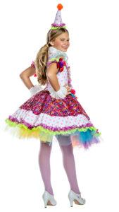 Party King PK1920C Girls Cutie Clown Costume - B