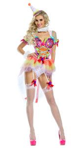 Party King PK1920 Cutie Clown Costume - A