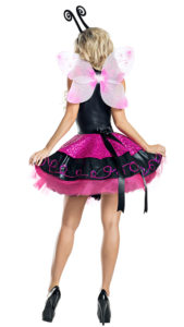 Party King PK1921 Pink Flutter Butterfly Costume - B