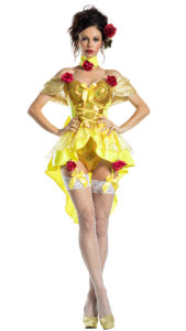 Party King PK1926 Dom Ballroom Belle Costume - A