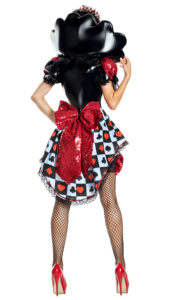 Party King PK1927 Dom Queen of Hearts Costume - B