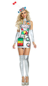 Party King PK1934 Robot Honey Costume - A