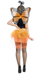 Party King PK1936 Orange Butterfly Costume - B