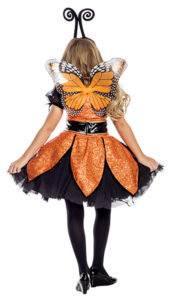 Party King PK1950C Girls Monarch Butterfly Costume - B