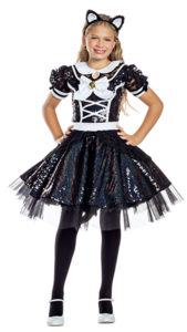 Party King PK1955C Girls Purrfect Kitty Costume - A