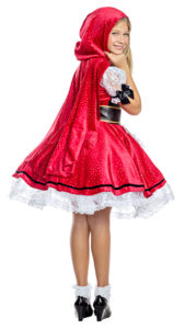 Party King PK1959C Girls Little Red Costume - B