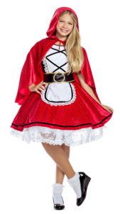 Party King PK1959C Girls Little Red Costume - A
