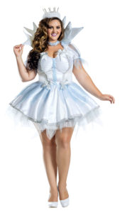 Party King PK1916XL Plus Ice Queen Costume - A
