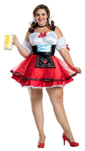 Party King PK1919XL Plus Octoberfest Hottie Costume - A