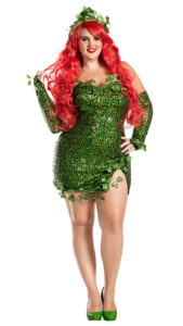 Party King PK451XL Plus Poisonous Villain Costume - A