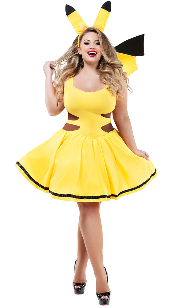 385227c9b2 ... Party King PK704XL Plus Catch Me Honey Costume - A ...