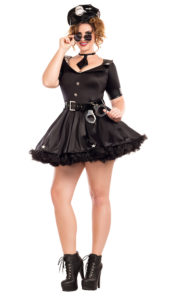 Party King PK721XL Plus Cuff Me Honey Costume - A