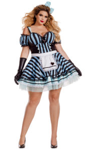 Party King PK827XL Plus Lost in Wonderland Costume - A
