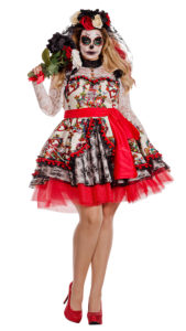 Party King PK843XL Plus La Novia Costume - A