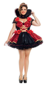 Party King PK900XL Plus Hearthrhrob Queen Costume - A