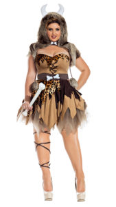 Party King PK914XL Plus Prehistoric Honey Costume - A