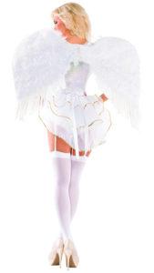 Party King PK441 Women's Sweet Angel Deluxe Costume Costume - B