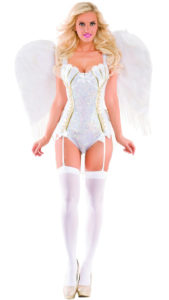 Party King PK441 Women's Sweet Angel Deluxe Costume Costume - A