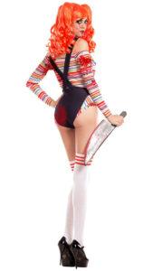 Party King PK762 Women's Chuckie Doll Costume - B