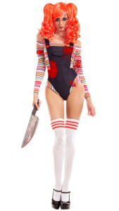 Party King PK762 Women's Chuckie Doll Costume - A