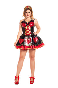 PK748XL Plus Size Off with their Heads Queen of Hearts