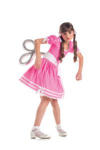 PK280C - Wind Up Doll Girls Costume