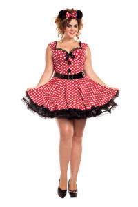 PK751XL - Missy Mouse Plus Size Womens Costume