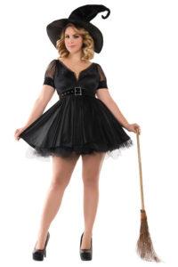 PK444XL Plus Bewitching Pin-Up Witch