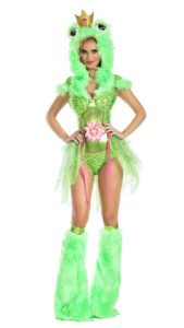 Party King PK902 Kiss Me Frog Womens Costume - A