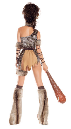 Party King PK919 Cave Babe Womens Costume - B