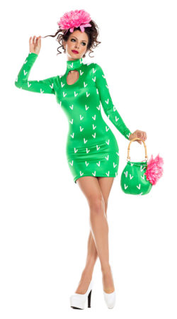 Party King PK934 Prickly Pear Womens Costume - A
