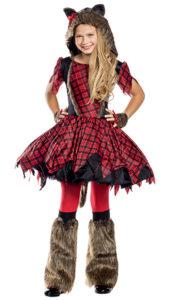 Party King PK163C Girls Werewolf Costume - A