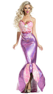 Party King PK1904 Blushing Beauty Mermaid Costume - A