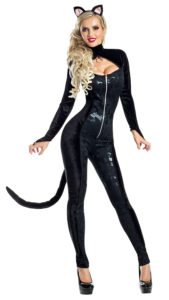 Party King PK1908 Midnight Kitty Costume - A
