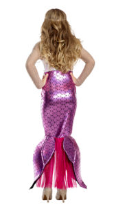 Party King 1940C Girls Blushing Beauty Mermaid Costume - B