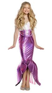 Party King 1940C Girls Blushing Beauty Mermaid Costume - A