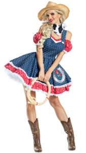 Party King PK1915 Howdy Hottie Costume - A