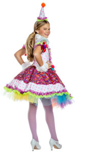 Party King PK1920C Girls Cutie Clown Costume - B
