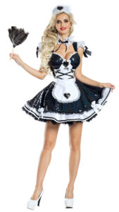 Party King PK1943 Marvelous Maid Costume - A
